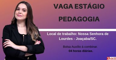 ESTÁGIO PEDAGOGIA