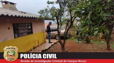 Polícia Civil identifica e ouve autor de homicídio cometido na noite da última sexta-feira em Campos Novos
