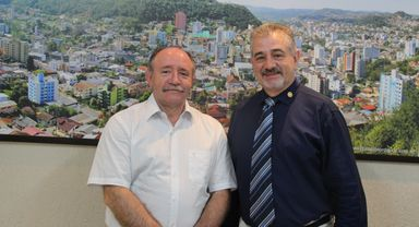 Vice-prefeito Jucelino Ferraz assume Prefeitura de Joaçaba por 20 dias