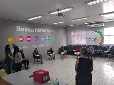 """Secretaria de Educação de Joaçaba inicia Projeto """"VIDA: MINHA ESCOLHA É...E A SUA?"""" com adolescentes"""