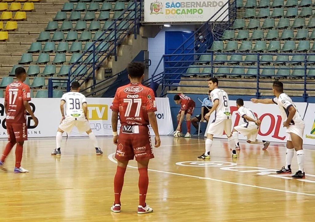 Joaçaba Futsal é superado pelo Santo André/Intelli pela LNF