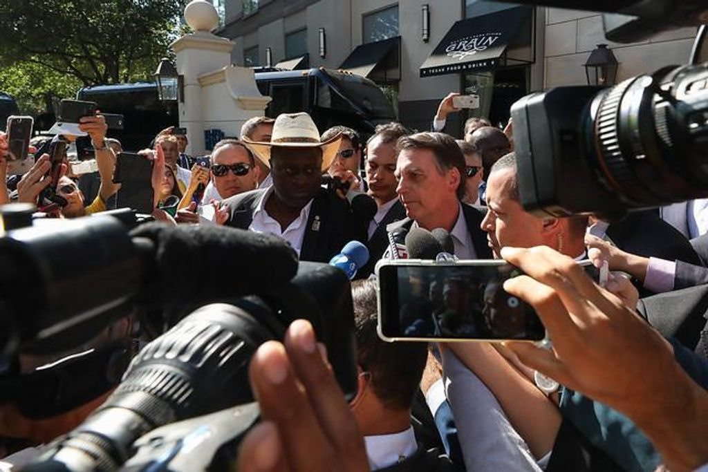 Presidente chegou aos Estados Unidos nesta quarta-feira.(Foto: Marcos Corrêa / Divulgação)