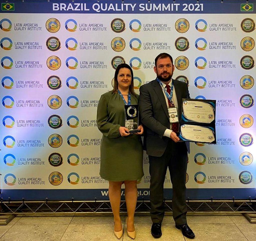 Laboratório Dala Rosa é o único de Santa Catarina a receber premiação pelo Latin American Quality Institute