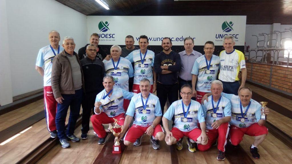 Associação Joaçabense de Bolão vence o 11º Campeonato Catarinense da Melhor Idade