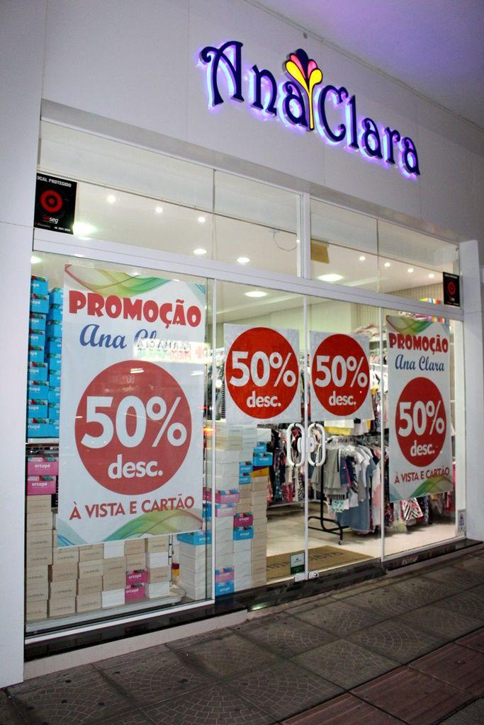 Promoção na Ana Clara - Todos os produtos com 50% de ...