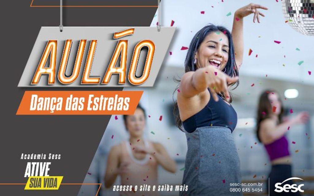 """Sesc realiza """"Aulões Show"""" de ginástica gratuitos em todas as regiões do Estado"""