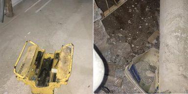 Homem cava buraco para furtar estabelecimento em Campos Novos