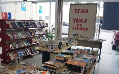 Biblioteca Pública Municipal de Joaçaba comemora seus 74 anos com Feira de Troca de Livros