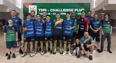 Mesa-tenistas de Joaçaba conquistam títulos em duas competições nacionais