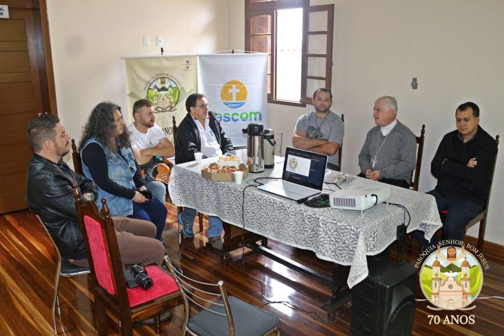 Paróquia Senhor Bom Jesus promove Café com a Imprensa