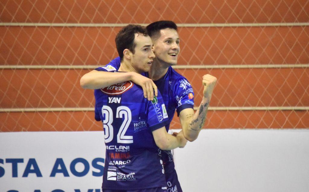 Joaçaba Futsal empata com o Magnus pela Liga Nacional