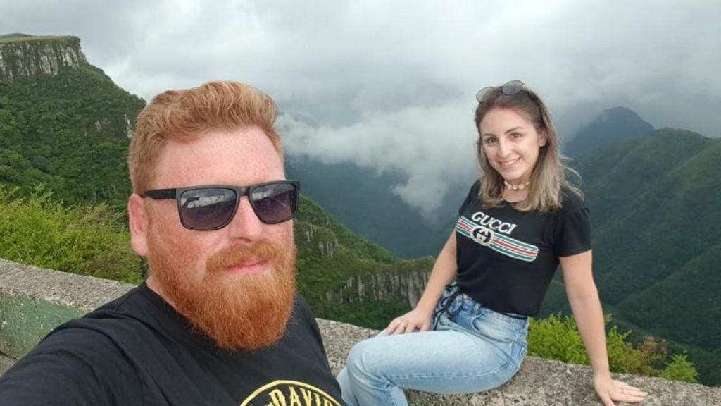 Willian Frantz e Jéssica Zillmer morreram em acidente nesta quinta-feira (23) – Foto: Reprodução/ Instagram