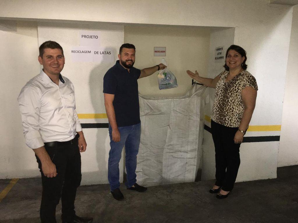 Condomínio de Herval mostra bom exemplo com reciclagem