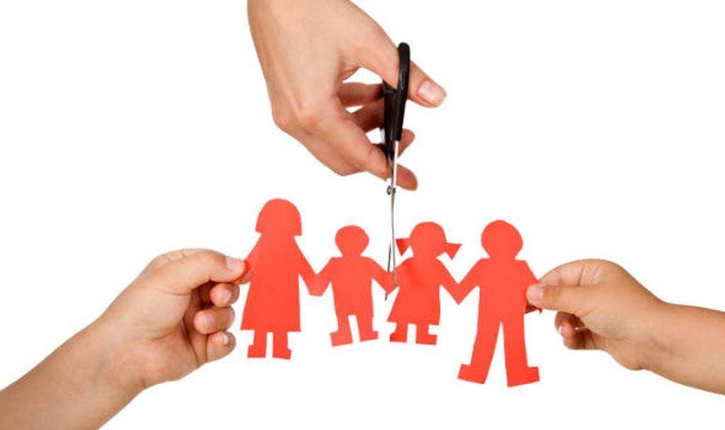 Como as crianças lidam com o divórcio?