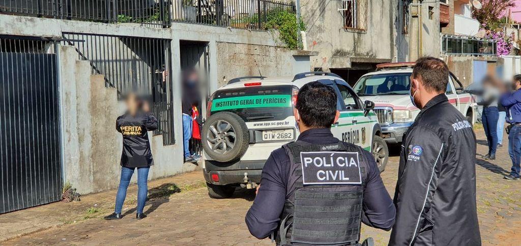 Local onde crime aconteceu. (Foto Arquivo Portal Éder Luiz)