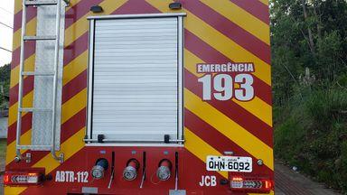 Bombeiros conseguiram evitar que incêndio destruísse casa em Herval