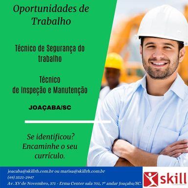 Técnico de Segurança do Trabalho - Joaçaba/SC
