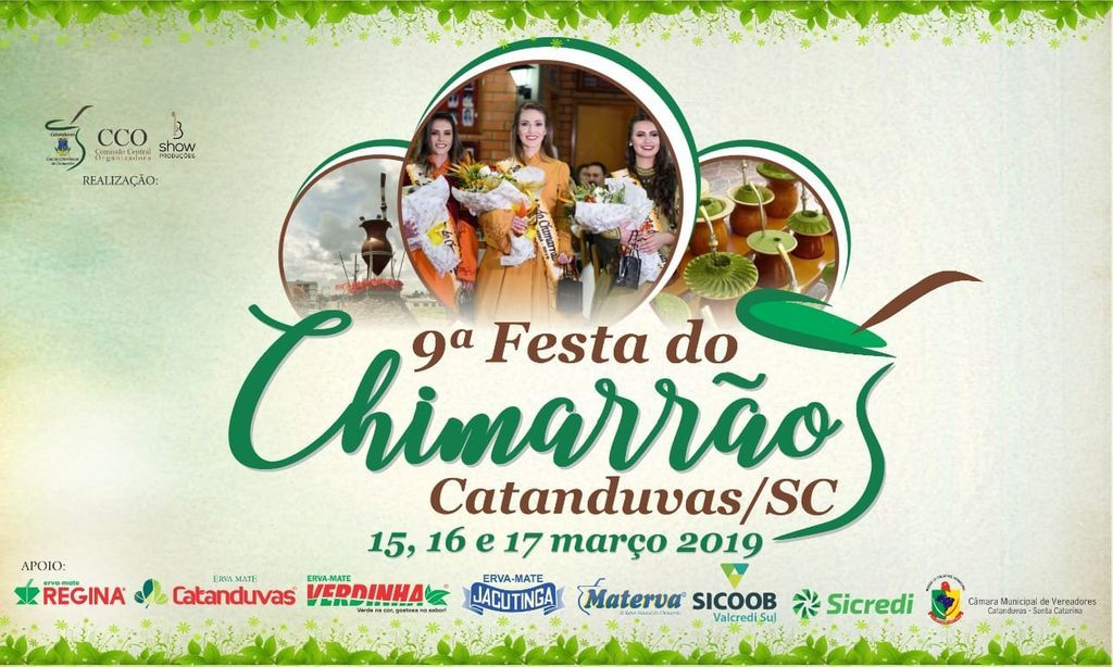 Festa do Chimarrão começa nesta sexta-feira, 15, em Catanduvas