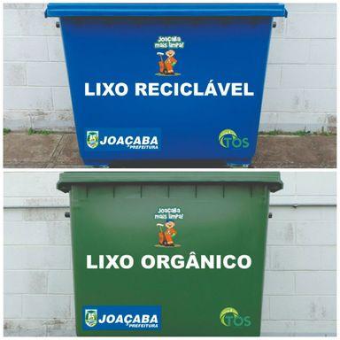 Prefeitura instala mais 200 contêineres para Coleta de Lixo em Joaçaba