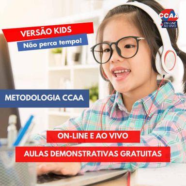 CCAA de Joaçaba promove Mini curso gratuito - Versão Kids