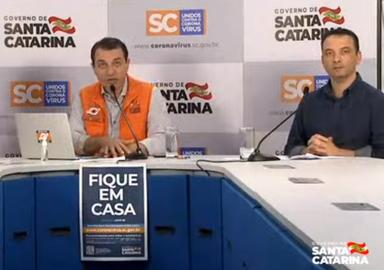 Santa Catarina tem 247 casos confirmados de coronavírus