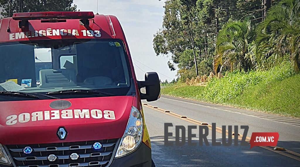Homem morre atropelado no trevo de acesso à Jaborá, BR 282 em Catanduvas