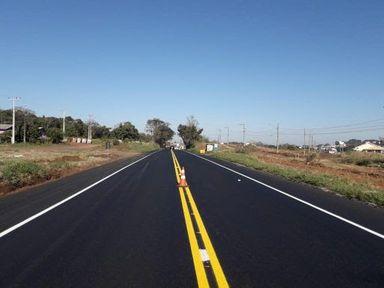 Governo Federal entrega mais 12 quilômetros de restauração da BR-282 – Foto: DNIT