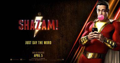 Shazam tem pré estréia nesta quarta-feira, 03, no Cine Gracher em Joaçaba