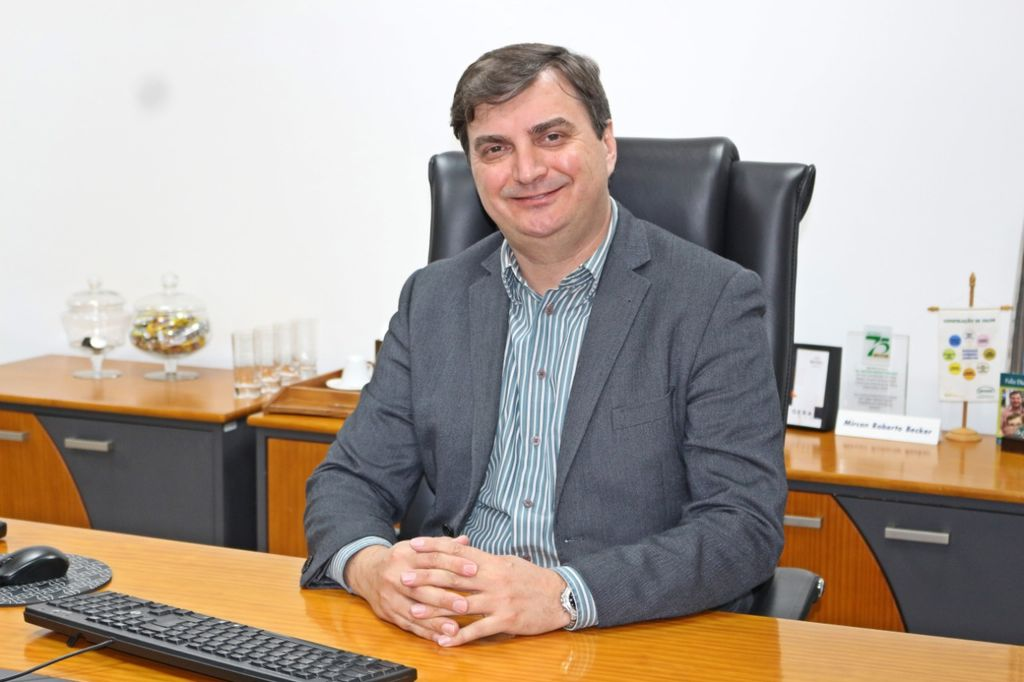 Presidente da ACIOC na gestão 2014/2015, Mircon Roberto Becker