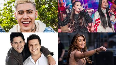 Kevinho, Lauana Prado, Maiara e Maraísa e Gian e Giovani