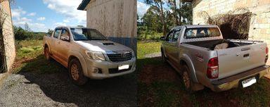 PM recupera veículo furtado em Campos Novos