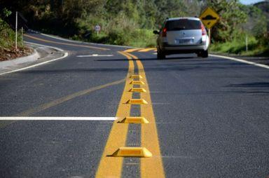 Investimento em melhorias de estradas reflete em queda no número de acidentes nas rodovias estaduais - Foto: Jaqueline Noceti / Secom