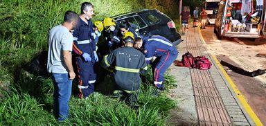 Motorista na contramão provoca acidente em Joaçaba
