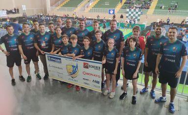 Pró Tênis de Mesa de Joaçaba conquista 3º lugar geral em competição estadual
