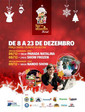 Natal em Família Herval 2018 conta com diversas atrações