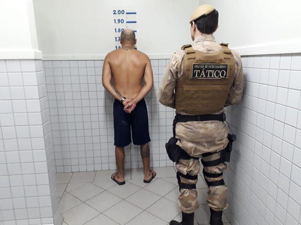 Homem é preso por tráfico de drogas em Joaçaba