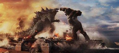 Estreia monstro no Cine Gracher! Godzilla vs. Kong