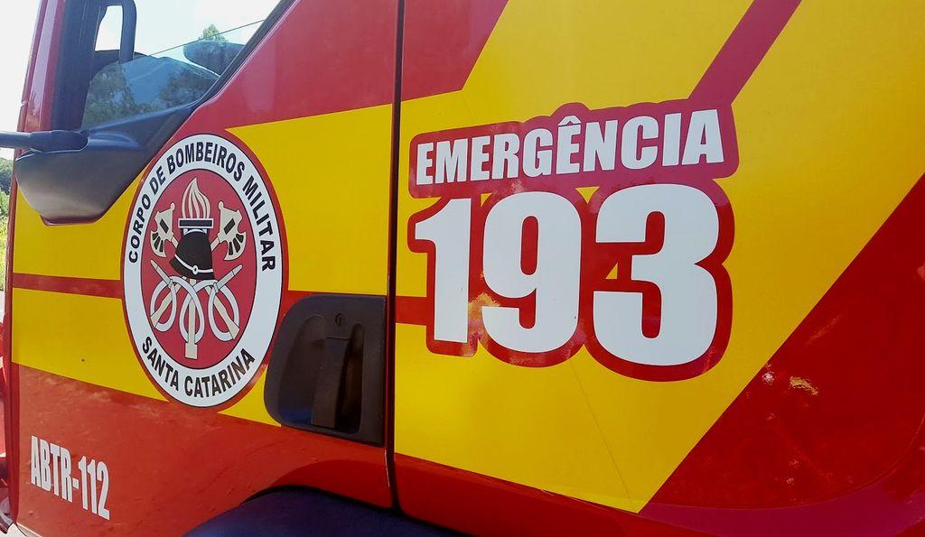 Bombeiros prendem homem que rendeu taxista desde Palhoça até Joaçaba
