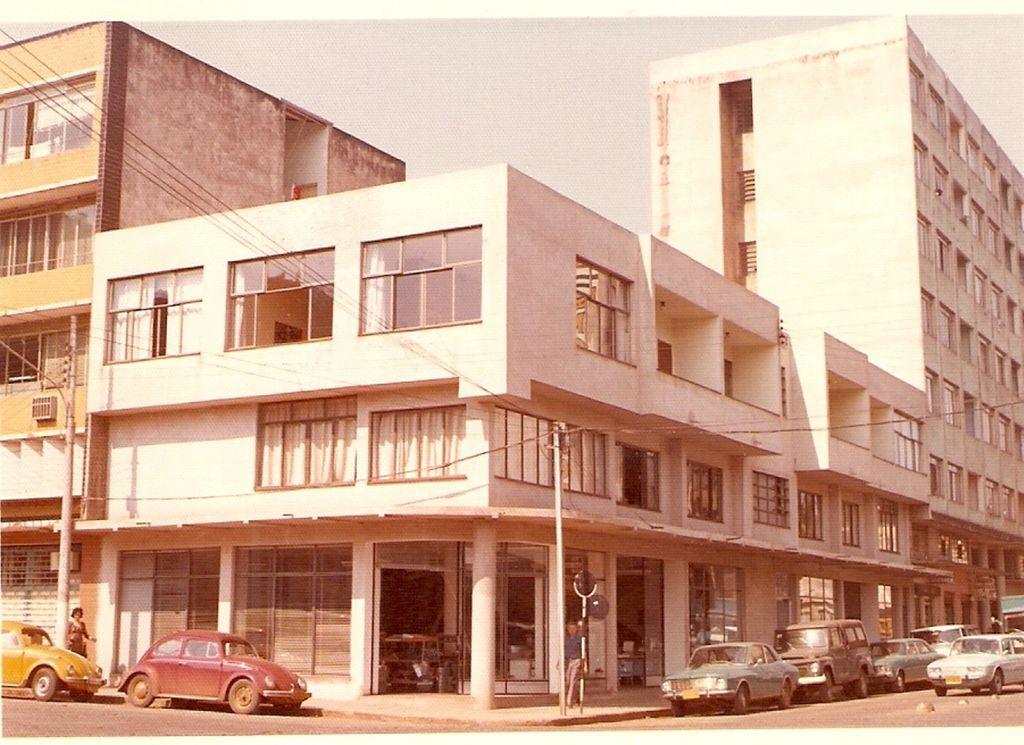 Primeira foto na atual localização - Foto 1974