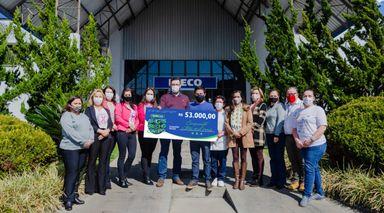 Carboni e Superviza doam R$ 53 mil a instituições videirenses