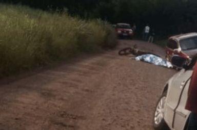 Motociclista perde a vida em acidente entre carro e moto