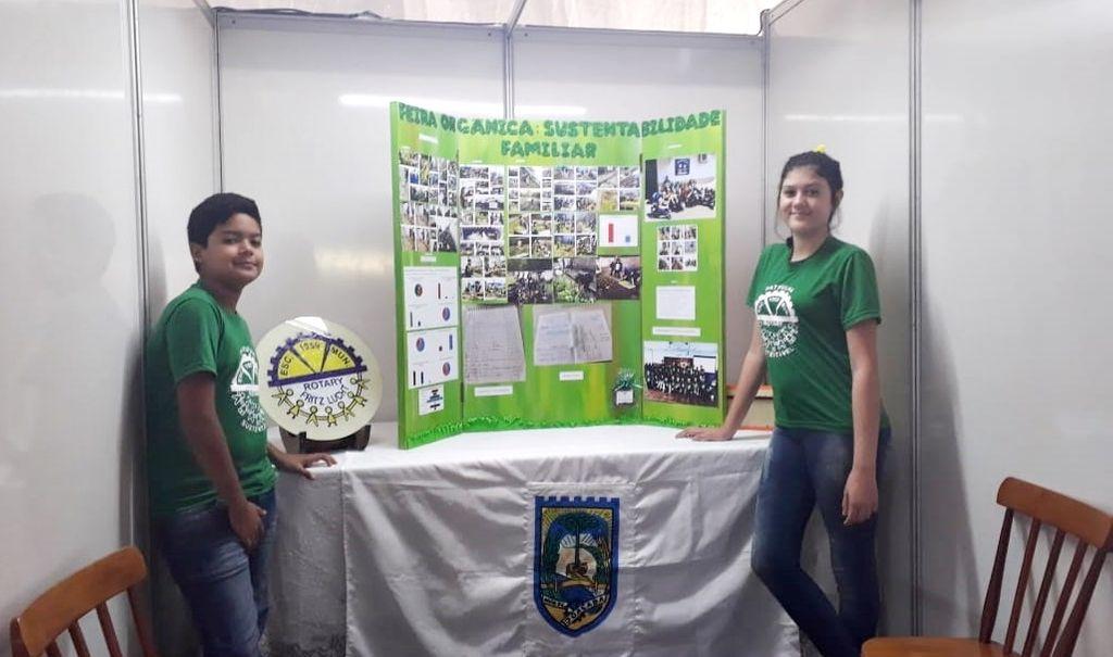 Escola Municipal Rotary Fritz Lucht conquista prêmio destaque na Mostra Científica Sul Brasileira Verde é Vida