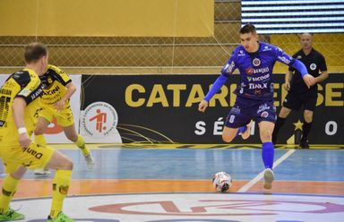 Joaçaba Futsal enfrenta o Concórdia nesta terça-feira pela Série Ouro