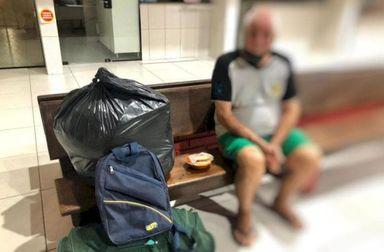 Homem é preso suspeito de abandonar pai em rodoviária de SC