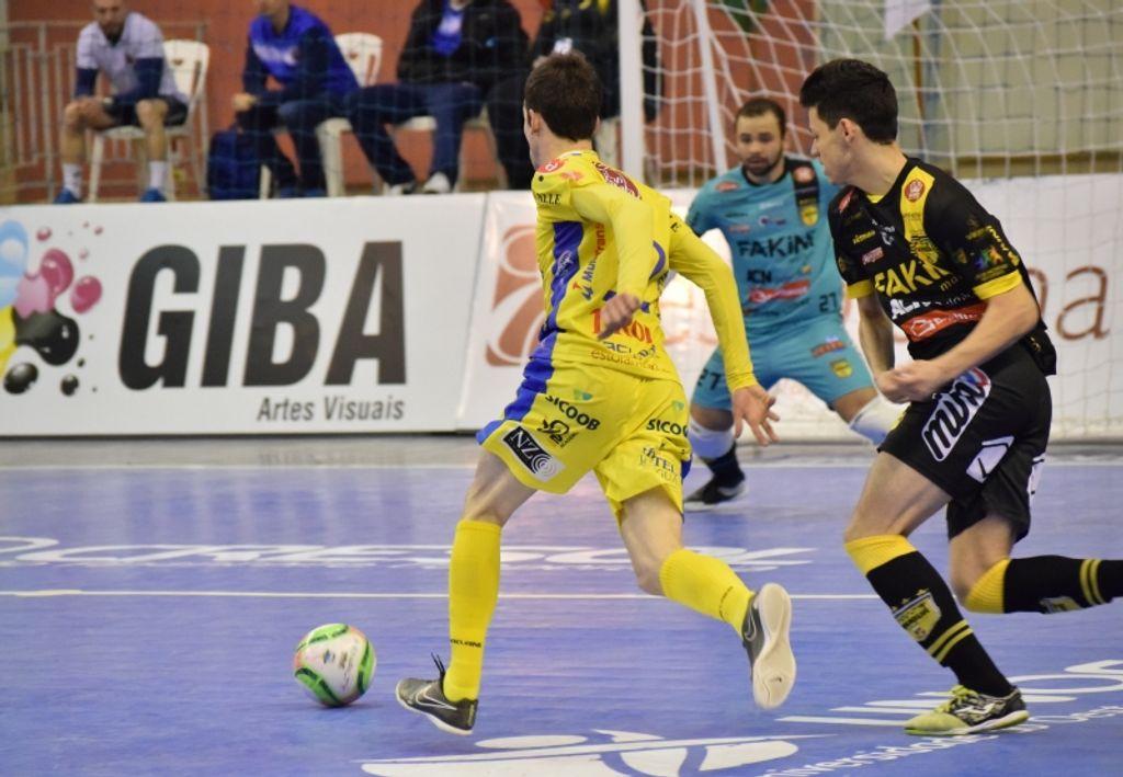 Joaçaba Futsal joga em Jaraguá do Sul nesta terça pela semifinal do Estadual