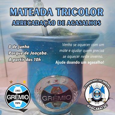 Mateada Tricolor vai arrecadar agasalhos em Joaçaba no próximo sábado, 08