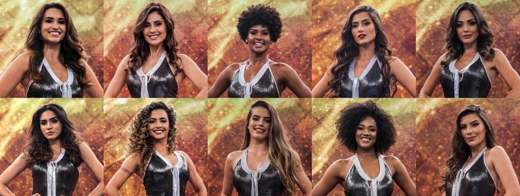 Thainara Latenik é contratada como bailarina do Programa Domingão do Faustão