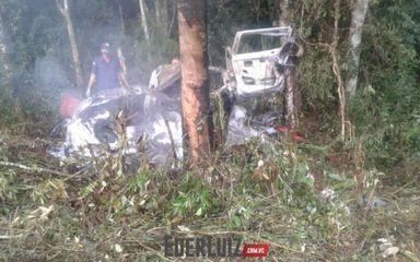 Morre motorista que teve o corpo queimado em acidente