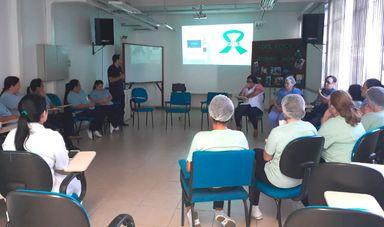 Palestras de conscientização sobre o tema foram realizadas