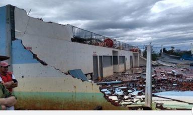 Microexplosão atingiu Oeste de SC, confirma Epagri/Ciram